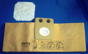 ADVANCE PAPER BAGS BACK PACK VAC 10 + 2 FILTER
