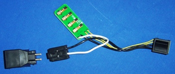 BEAM CIRCUIT BOARD WITH SWITCH & 3/2 PLUG