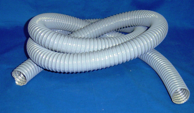 "1 1/2"" GRAY WIRE REINFORCED HOSE"