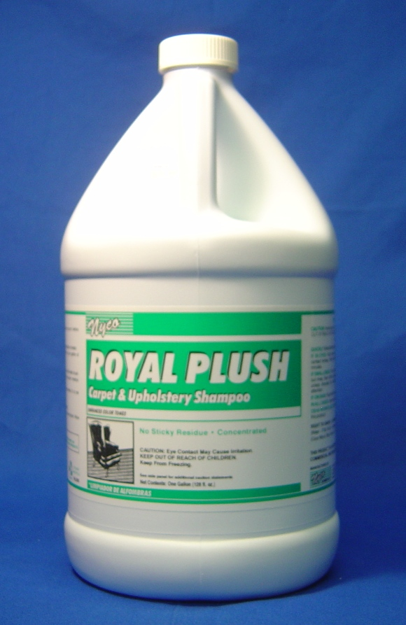 SHAMPOO, 20 TO 1, ROYAL PLUSH - GALLON