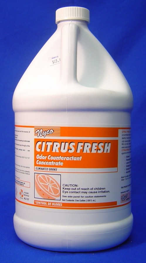 CITRUS FRESH ODOR COUNTERACTANT, GALLON