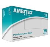 LATEX GLOVES, POWDERED NON-MEDICAL XL BOX OF 100