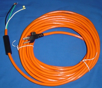 CORD, ASSEMBLY 35' 3 WIRE ORANGE