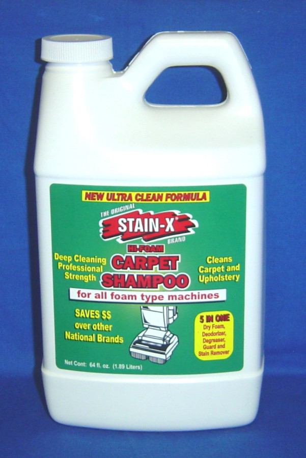 SHAMPOO 64OZ. ROTARY HI-FOAM CARPET SHAMPOO 5 IN ONE